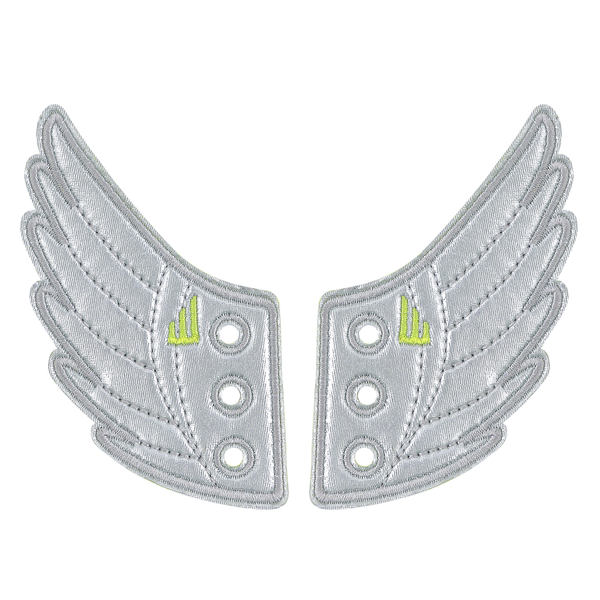 Shwings Shoes Wings Silver