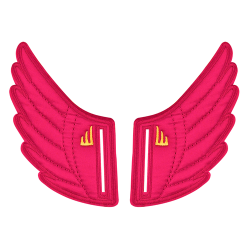 Shwings Wings Shoes Velcro Fuschia-ACCESSORIES-SHWINGS-Billie & Axel, Montreal, Canada & USA