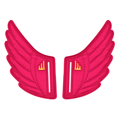 Shwings Wings Shoes Velcro Fuschia