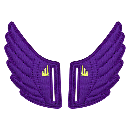 Shwings Wings Shoes Velcro Purple-ACCESSORIES-SHWINGS-Billie & Axel, Montreal, Canada & USA