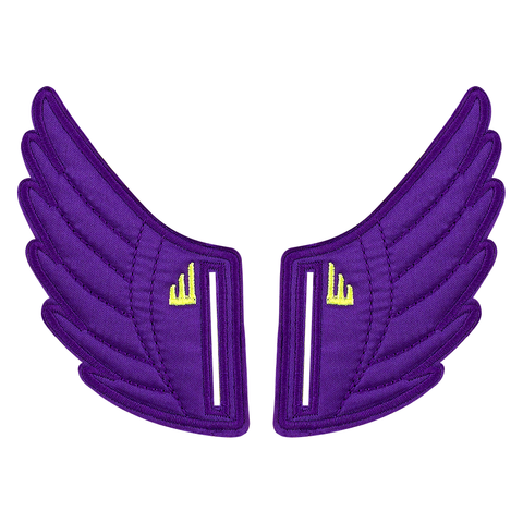 Shwings Wings Shoes Velcro Purple