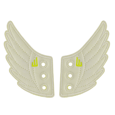 Shwings Shoes Wings White-ACCESSORIES-SHWINGS-Billie & Axel, Montreal, Canada & USA