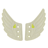 Shwings Shoes Wings White