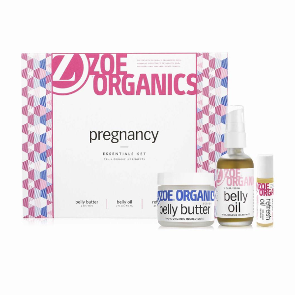Zoe Organics Pregnancy Skincare Gift Set Billie & Axel, Montreal, Canada & USA