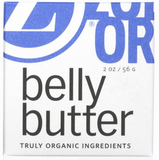 Zoe Organics Belly Butter for moms Billie & Axel, Montreal, Canada & USA