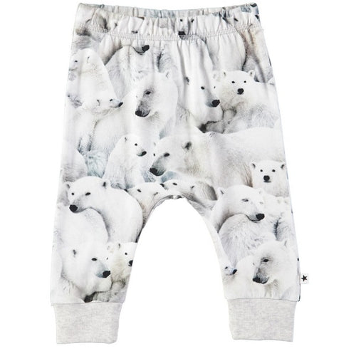 MOLO Simone Soft pants Polar Bear Jersey-Soft pants-MOLO-Billie & Axel, Montreal, Canada & USA