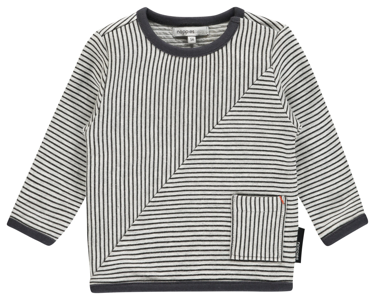 NOPPIES Sweater ls Townsend str Charcoal