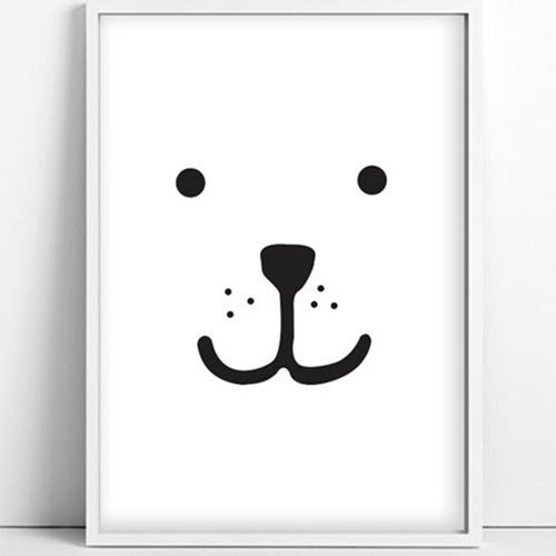 Tellkiddo Bear Print - Second hand