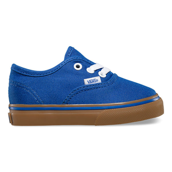 VANS AUTHENTIC GUMSOLE OLYMPIAN BLUE / MEDIUM GUM (TODDLER)