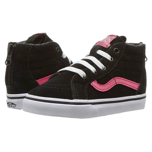VANS SK8-HI BLACK METALIC PINK-SHOES-VANS-Billie & Axel, Montreal, Canada & USA