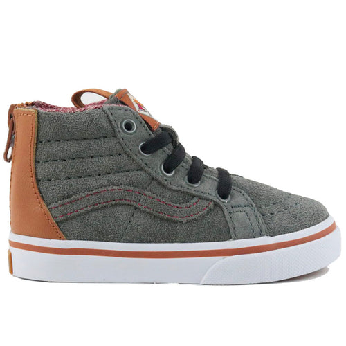VANS SK8-HI CASTOR GREY CAMEL-SHOES-VANS-Billie & Axel, Montreal, Canada & USA