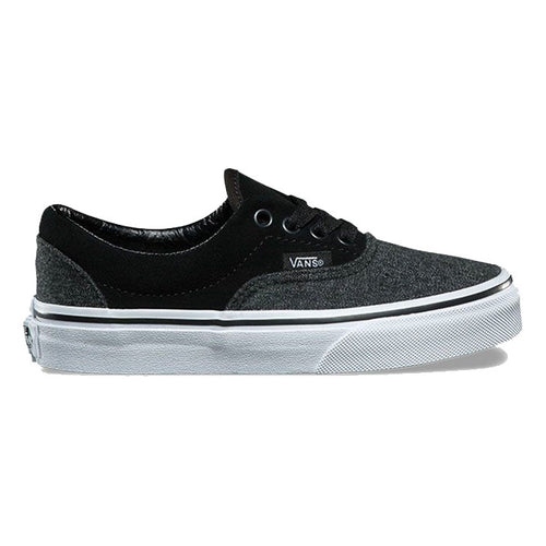 VANS ERA SUEDE & SUITING BLACK GREY-SHOES-VANS-Billie & Axel, Montreal, Canada & USA