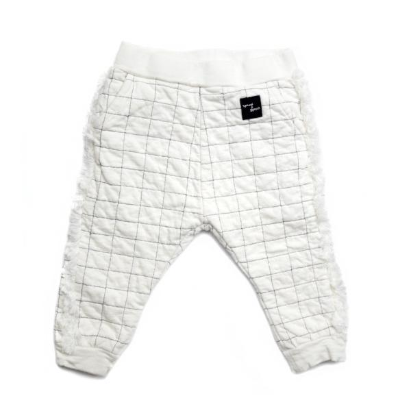 "Sproet & Sprout Pants ""Grid"" White Billie & Axel, Montreal, Canada"