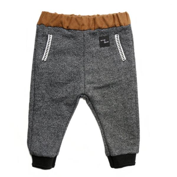 "SPROET & SPROUT SWEATPANTS ""ARCTIC BLACK MELEE"""