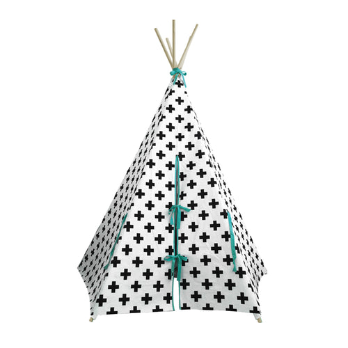 Cross Teepee Yellow Aqua Wildfire Teepee Billie & Axel Canada and USA