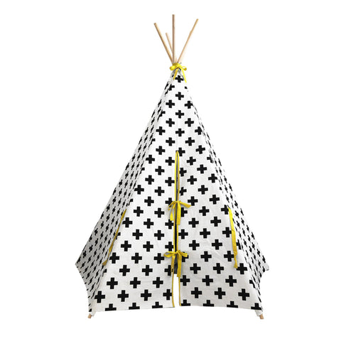Cross Teepee Yellow Trim Wildfire Teepee Billie & Axel Canada and USA