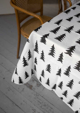 FINE LITTLE DAY GRAN TABLE CLOTH 147cm x 350cm Black/White