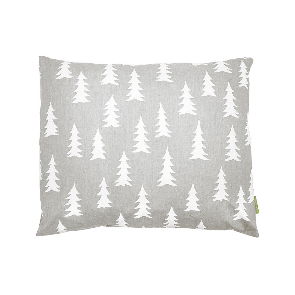 Fine Little Day Gran Bedding Pillow Case White/Grey 50x60