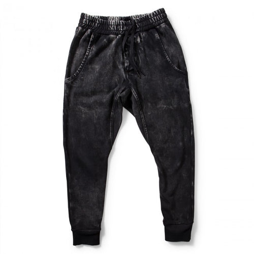 MUNSTERKIDS TRACK PANT KICKER PIGMENT BLACK-PANTS-MUNSTERKIDS-Billie & Axel, Montreal, Canada & USA