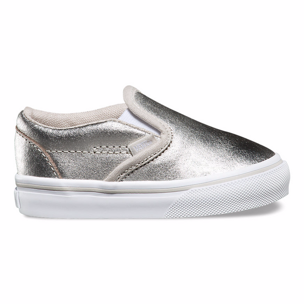VANS TODDLER CLASSIC SLIPON METALLIC