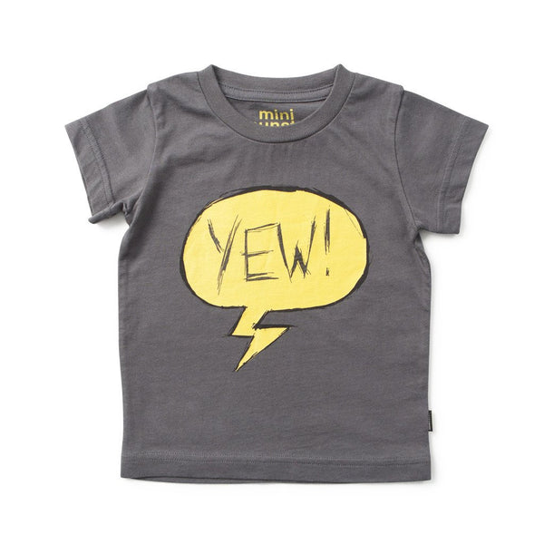 MUNSTERKIDS BABY BOY TEE CHARCOAL YEWH Billie & Axel, Montreal, Canada