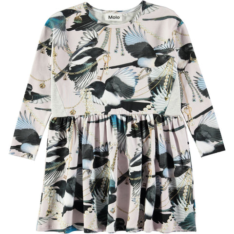 Molo Carly Dress LS Treasure Hunters