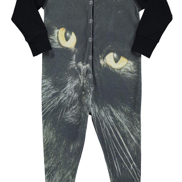 POPUPSHOP ONE PIECE SUIT BLACK CAT