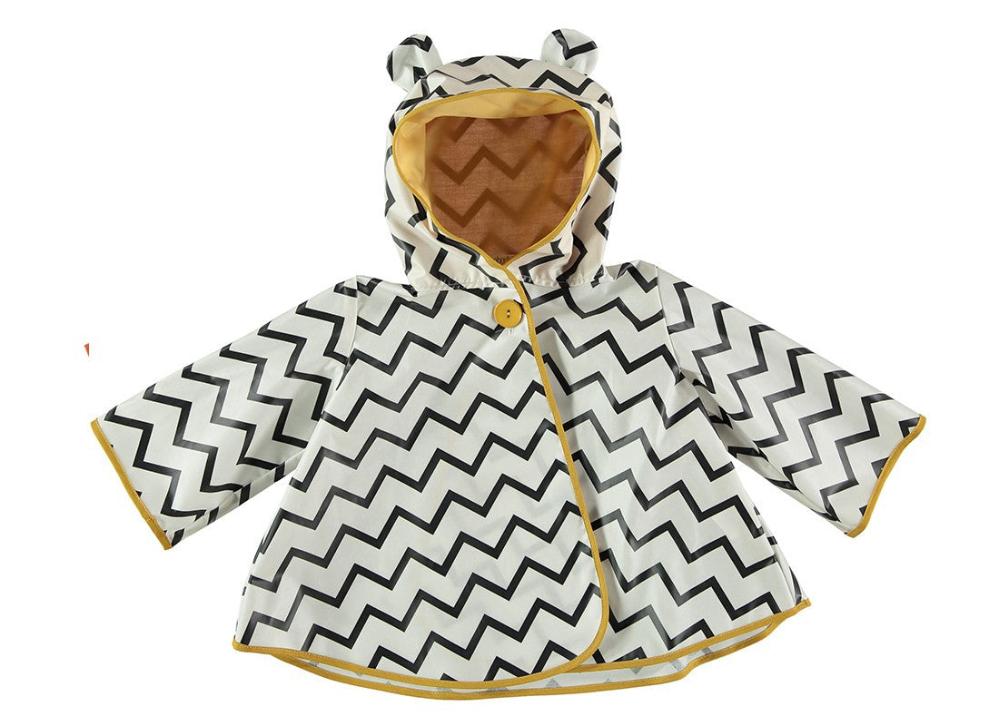 nobodinoz raincoat venezia zig zag black Billie & Axel, CANADA & USA