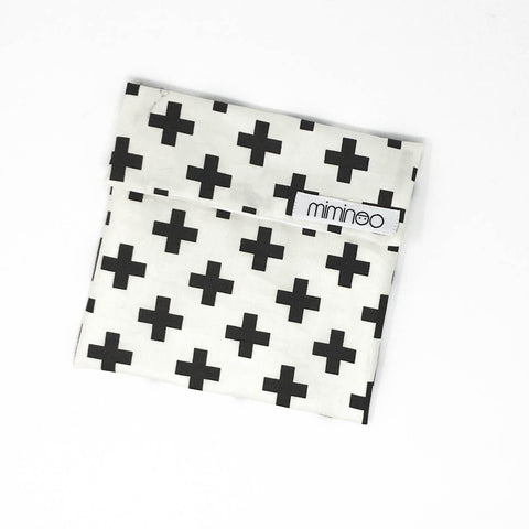 MIMINOO REUSABLE SNACK BAG CROSS