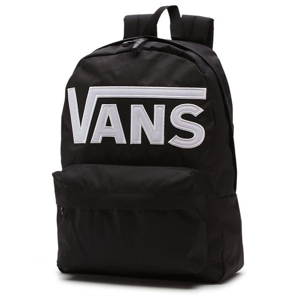 VANS BACKPACK OLD SKOOL II BLACK WITH WHITE LOGO