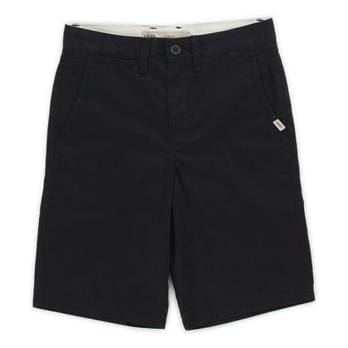 VANS BOYS SHORT AUTHENTIC BLACK-SHORTS-VANS-Billie & Axel, Montreal, Canada & USA