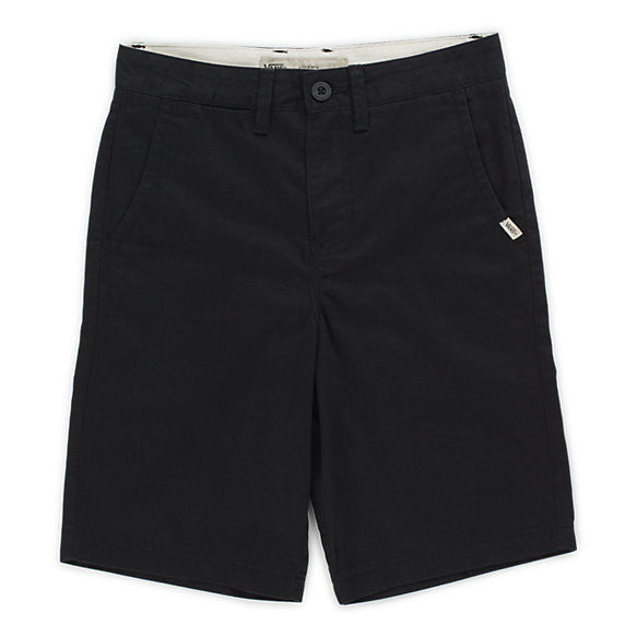 VANS BOYS SHORT AUTHENTIC BLACK