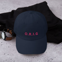 Load image into Gallery viewer, ORIG - BASEBALL CAP - Be Original