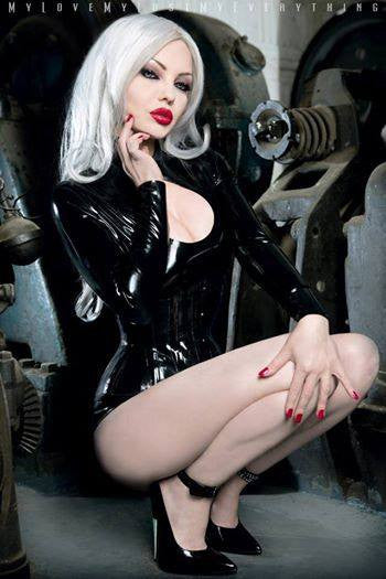 Latex Ophelia Top