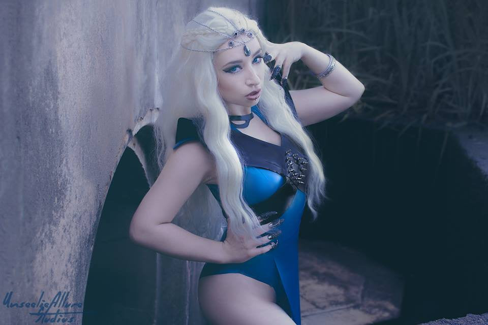 Latex Khaleesi Harness