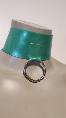 Latex O-ring choker