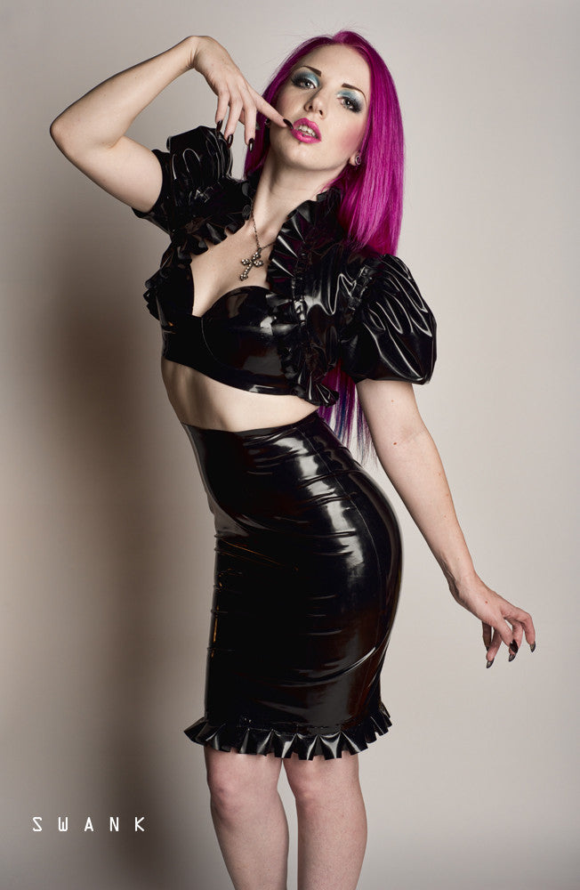 Latex Vanessa Skirt