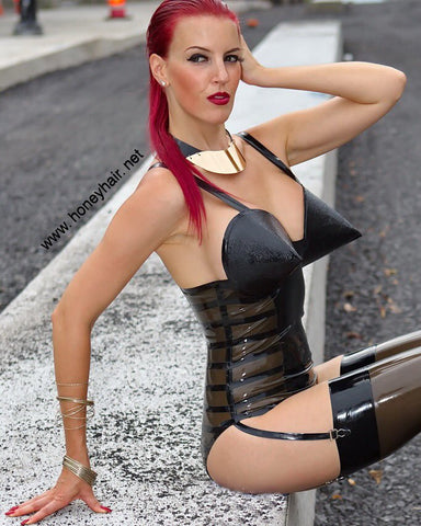Latex Dita Playsuit