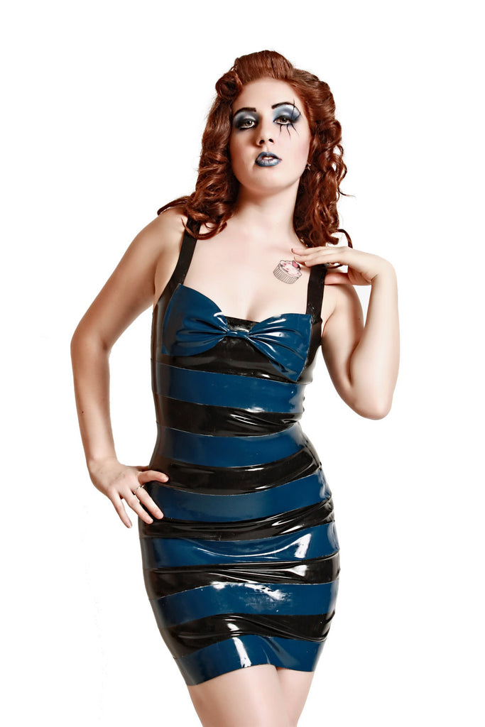 Latex Alice Dress