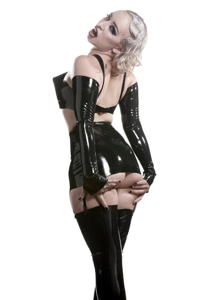 Latex Vixen Girdle