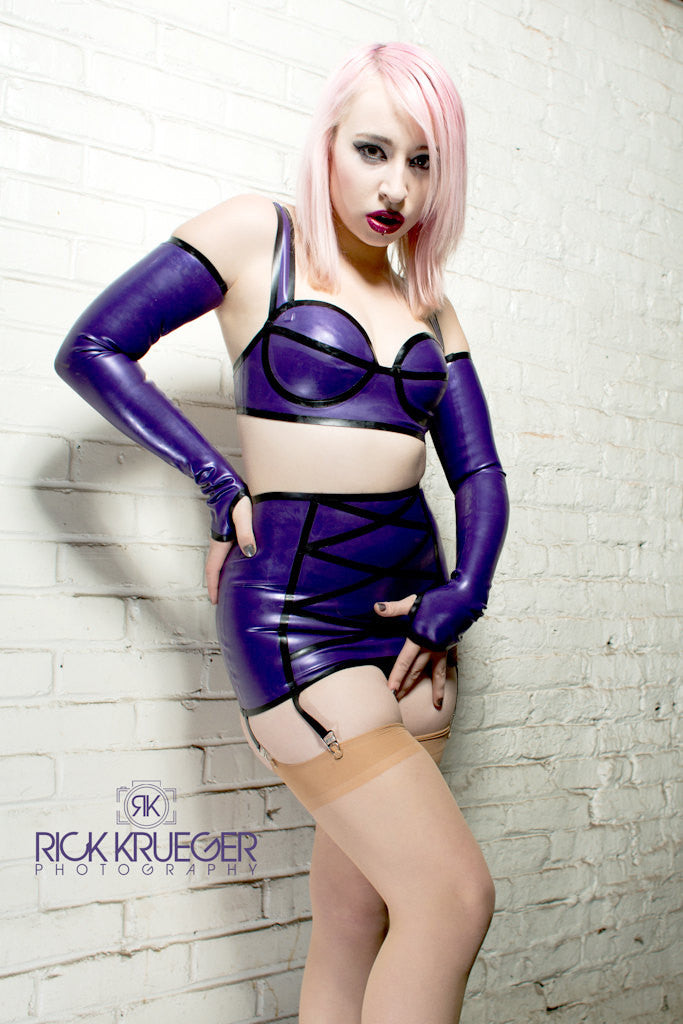 Latex Miranda Girdle