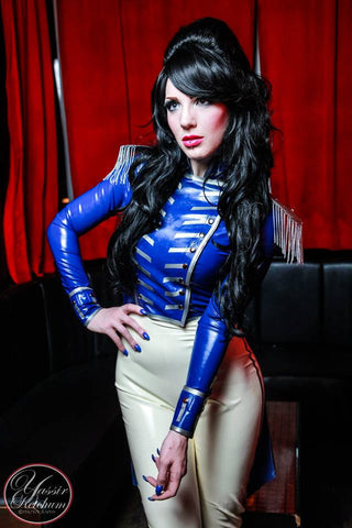 Latex Commodore Tailcoat