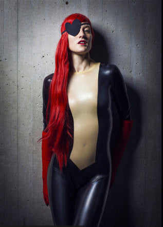 Latex Cosplay: Molotov Cocktease from The Venture Brothers - Adult Swim