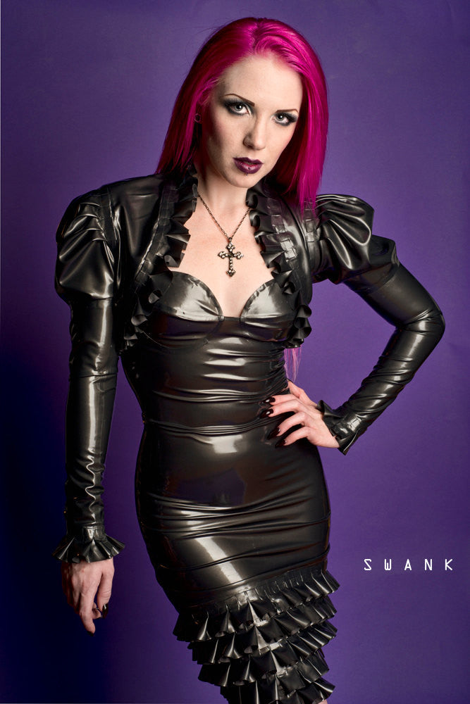 Latex Elizabeth Bolero