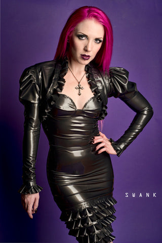 Latex Elizabeth Dress