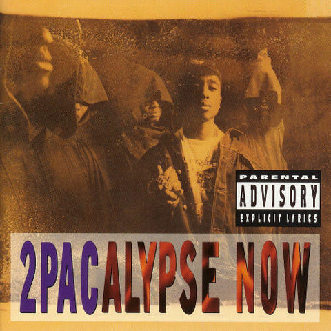 2Pac - 2Pacalypse Now-LP-South
