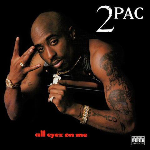 2Pac - All Eyez On Me-LP-South