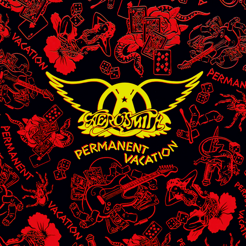 Aerosmith - Permanent Vacation-LP-South
