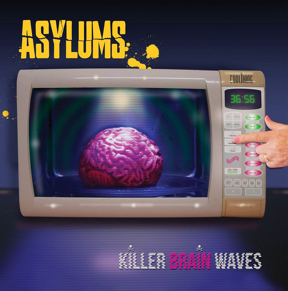 Asylums - Killer Brain Waves-CD-South