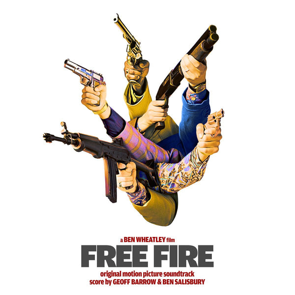Ben Salisbury & Geoff Barrow - Free Fire OST-LP-South